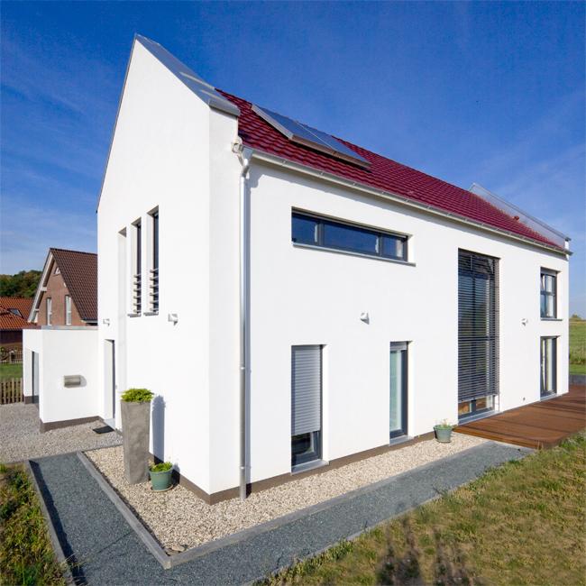 Moderne Satteldachhäuser 04breitenbach fassade jpg